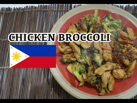 🇵🇭 Chicken Broccoli - Pinoy Tagalog Filipino Recipe