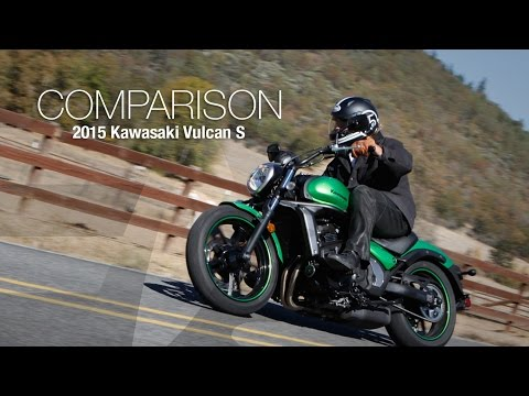 2015 Kawasaki Vulcan S vs CTX700N Comparison Part 2 - MotoUSA