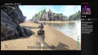 My first gameplay of Ark survival evolved!