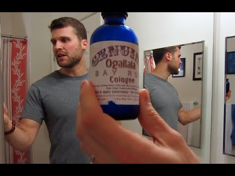 Ogallala Bay Rum Cologne!