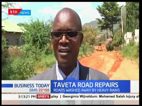 Taita Taveta renovates kilometers of road after heavy rains  | Business Today