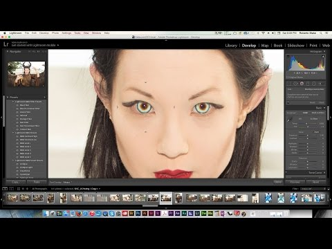 Adobe Lightroom 5 Tutorial: Removing Red Eye from Photos