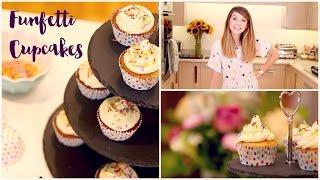 Funfetti Cupcakes | Zoella