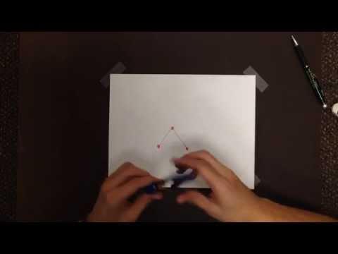Construct Circle Through 3 Non Collinear Points
