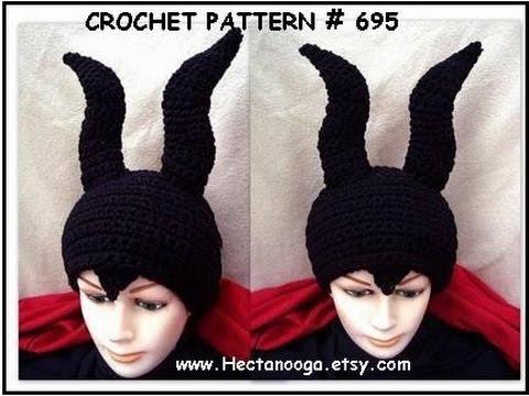 GREAT HORNED  HAT, DIY crochet pattern, cosplay, costumes, halloween