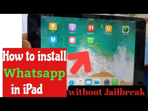 how to install whatsapp in ipad /ipad me whatsapp kaise Chalaye