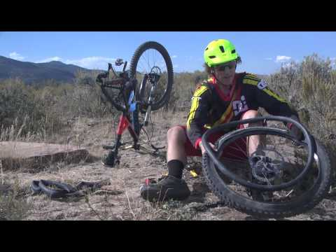 Mountain Biking with JANS.com: How To Change A Flat Tire On The Trail