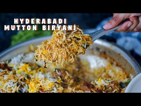 Pressure Cooker Hyderabadi Biryani | Hungry for Goodies