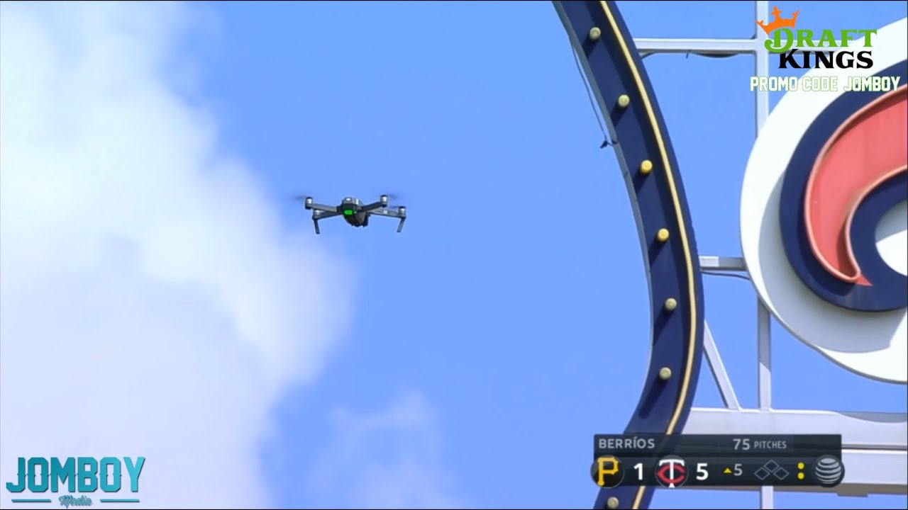 Twins game gets delayed when a drone flies over the stadium, a breakdown