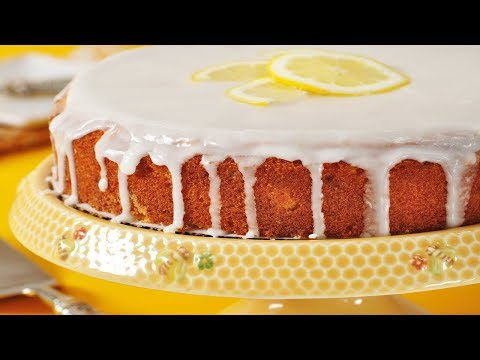 Lemon Frosted Lemon Cake Recipe Demonstration - Joyofbaking.com