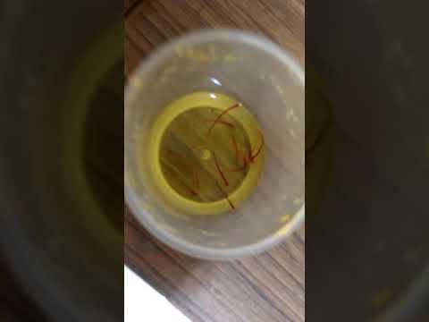 Saffron Purity Test
