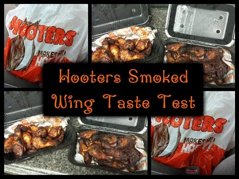 HOOTERS SMOKED WING TASTE TEST (WHICH ONE TASTE THE BEST?)