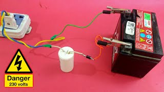 Battery Charger Used Fan 'Condenser' (EASY-WAY)