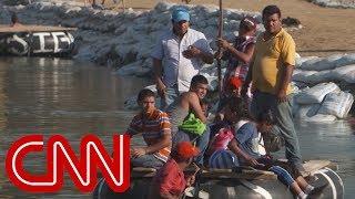 More immigrants desperate to cross Mexico border