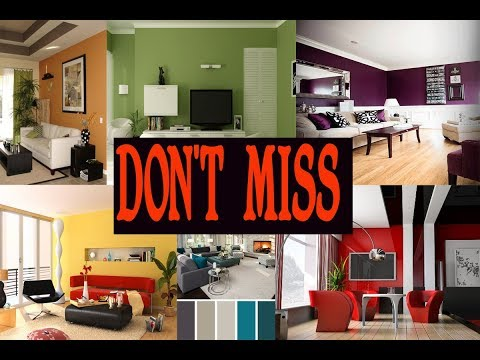 BEST COLOUR COMBINATION FOR YOUR LIVING ROOM