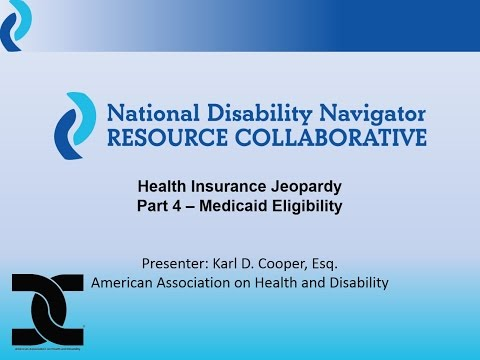 Health Insurance Jeopardy Part 4: Medicaid Eligibility