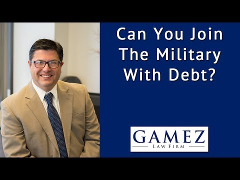 Can You Join The Military With Debt | Military and Debt Explained