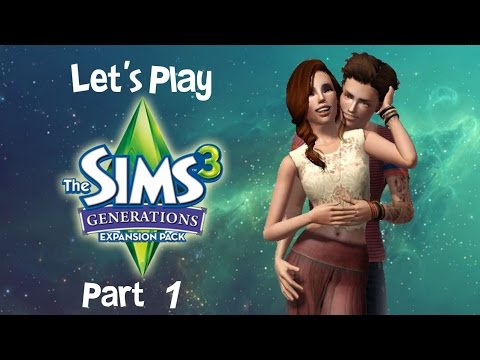 ♦³ Let's Play the Sims 3 Generations- Part 1: Frogs and Meteors