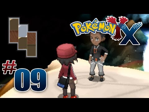 Let's Play Pokemon: X - Part 9 - Cyllage Gym Leader Grant