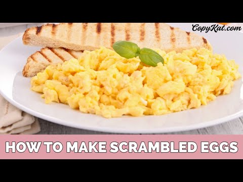 How To Make Scrambled Eggs For Beginners