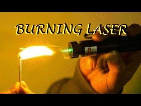 Simple hack to make a burning laser