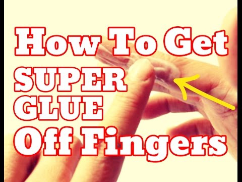 [NEW] How To Get Super Glue Off Fingers - Remove Super Glue Off Your Skin Easy [HD]
