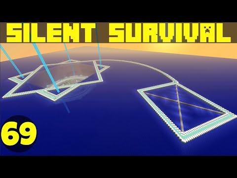 Silent Survival Ep69: Perfect Curves And Hella Skulls! Minecraft Vanilla Survival