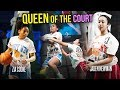 Jaden Newman Vs Zia Cooke In Greatest Queen Of The Court Game EVER All These Girls Got BEEF