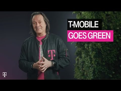 T-Mobile Goes Green: John Legere Challenges AT&T and Verizon to Choose Renewable Energy | T-Mobile