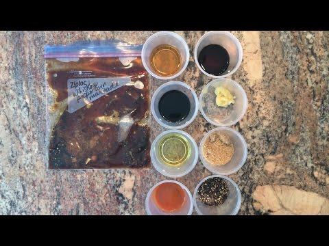 Recipe Share | Freezer Meal Prep | Southern Whiskey Peppercorn Marinade