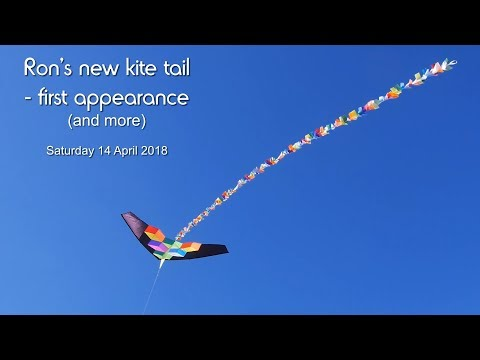 Ron's new kite tail, first appearance (and more)