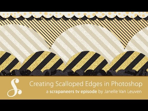 Creating Scalloped Edges in Photoshop