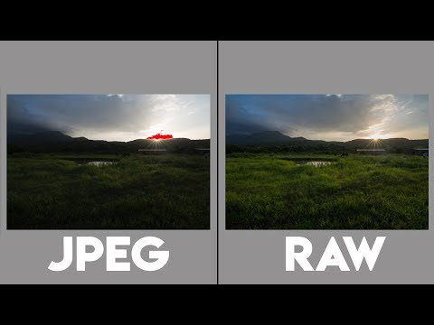 RAW vs JPEG Photography and Comparison!