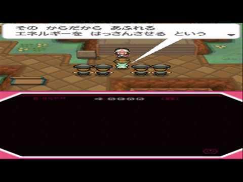 Pokemon Black Liberty Garden - After Capturing Victini