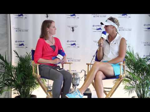 Anna Nordqvist 3rd round interview from the Airbus LPGA Classic