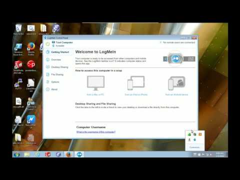 How to find your computer name when using LogMeIn