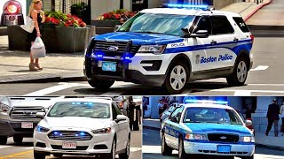 Police Cars, Fire Trucks, Ambulances Responding Compilation - Best of Lights, Sirens and Air Horns