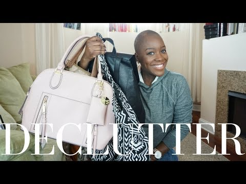 KONMARI METHOD DECLUTTER BAGS AND PURSES | Stacey Flowers
