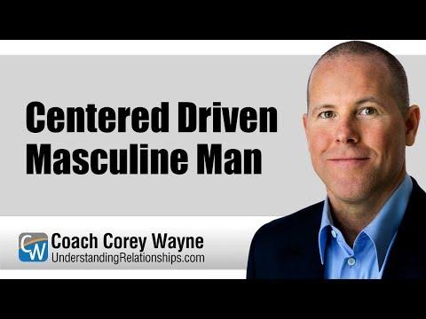 Centered Driven Masculine Man