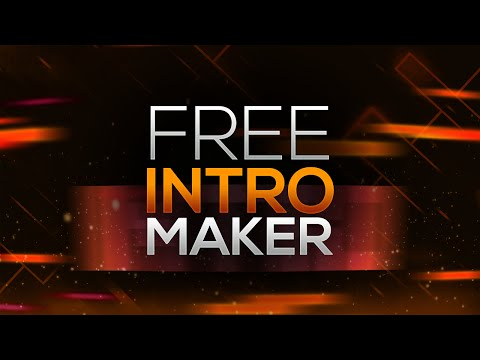 How to Make an Intro for YouTube Videos FOR FREE! No Software/Programs (2017)