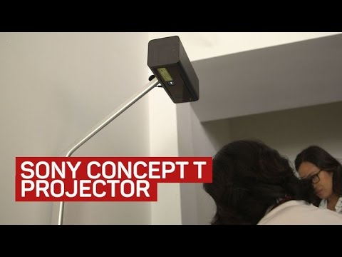 Sony's Concept T turns your table into a game