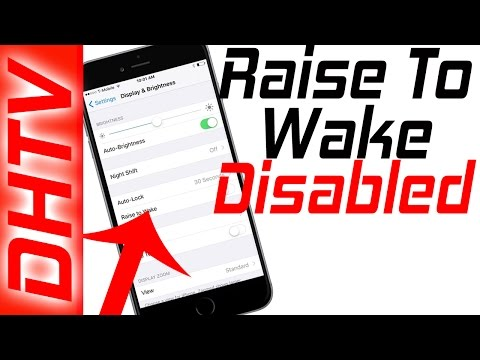 How To Disable Raise To Wake iOS 10 - Turn on/off Raise to Wake iPhone 7