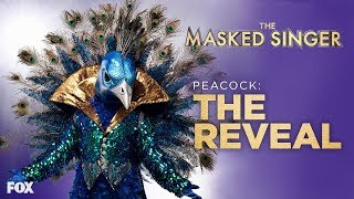 The Peacock Is Revealed | Season 1 Ep. 10 | THE MASKED SINGER