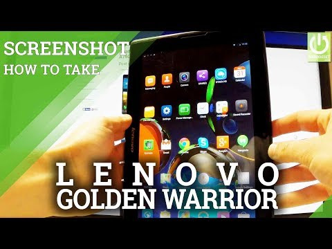 LENOVO A7600 SCREENSHOT / PRINT SCREEN / How to Capture Screen