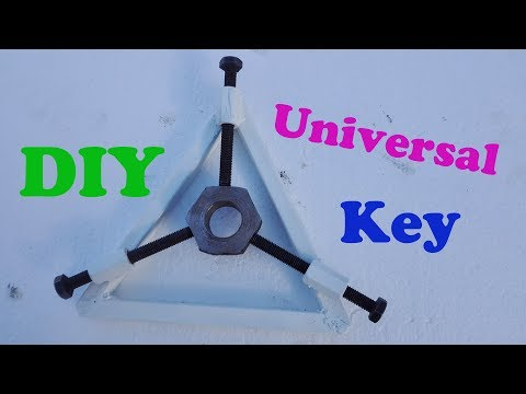 How to Make a Universal Key Triangle / Amazing homemade Tool DIY