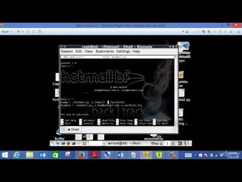 Ethical Hacking Beginners Tutorial   17   How to Hack Gmail, Yahoo, Hot mail Password 720p 30fps H26