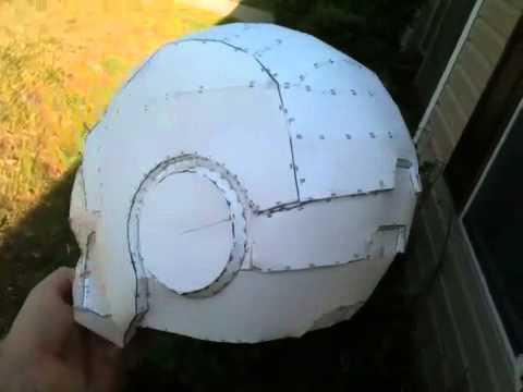 Iron Man Pepakura Helmet
