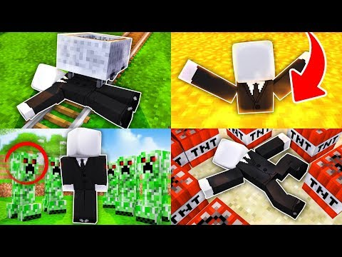 10 WAYS TO KILL SLENDERMAN IN MINECRAFT