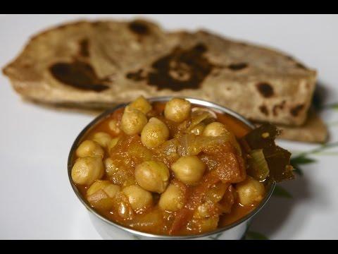 Chole or Chana Masala - Chick Peas Curry by Telugu Taste Buds