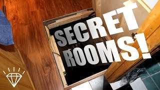10 Bizarre Secret Rooms Found in People